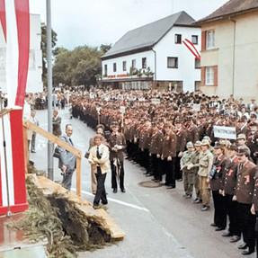 80 Jahr Feier der FF Ansfelden 1980