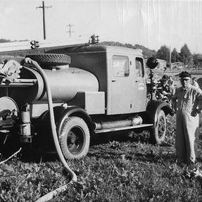 Tanklöschfahrzeug 1956