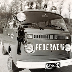 Das erste Kommandofahrzeug 1978