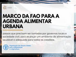 Jornada de lançamento do Marco da FAO para a Agenda Alimentar Urbana
