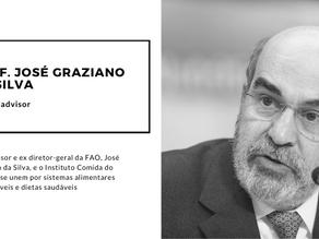 Prof. Graziano da Silva e Instituto Comida do Amanhã:  juntos por sistemas alimentares sustentáveis