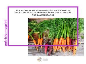 Dia Mundial da Alimentação: um chamado coletivo para transformação dos sistemas agroalimentares