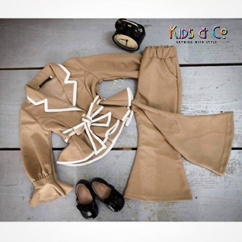 """Girls About Business"" Pants Set"