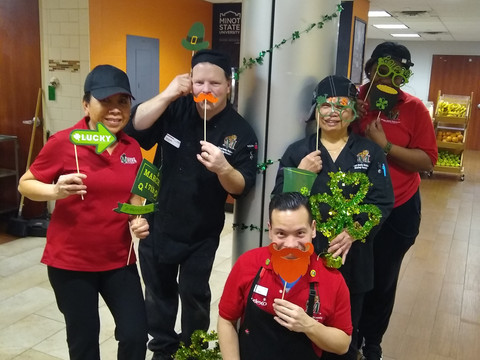 St. Patrick's Day at Minot State