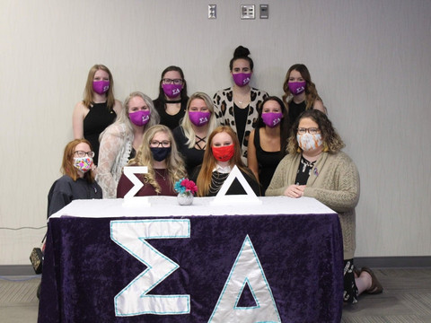 Sigma Delta continues tradition of helping the Minot community