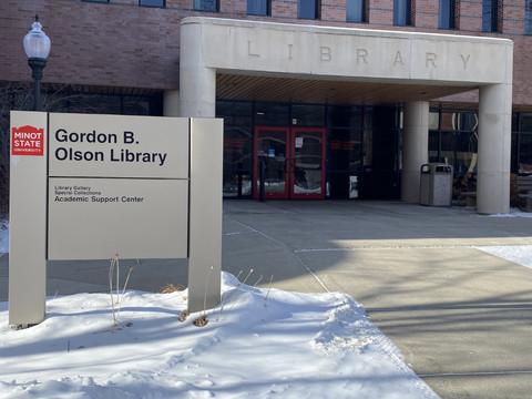Gordon B. Olson library serves student needs