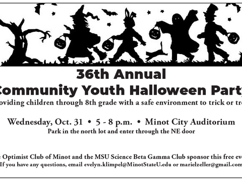 36th Annul Community Youth Halloween Party