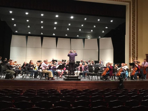 Students participate in Minot Symphony Orchestra
