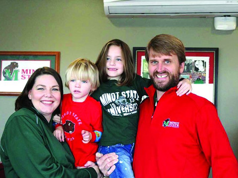 Work-life balance: The never-ending role of Minot State's president