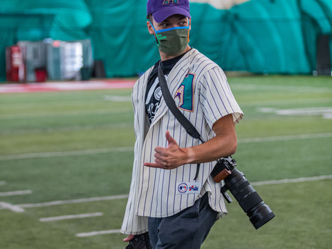 Behind the lens of athletics