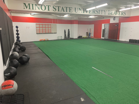 Student-athletes train for new normal