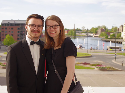 Love at Minot State: Passion for music brings couple together in perfect harmony