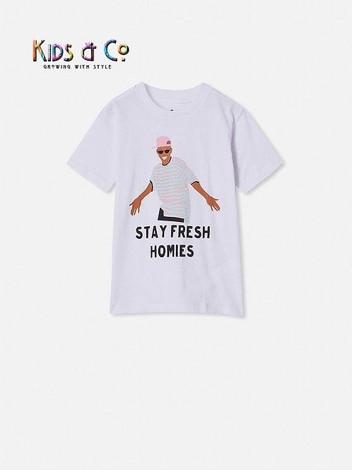 Stay Fresh Homie Short Sleeve