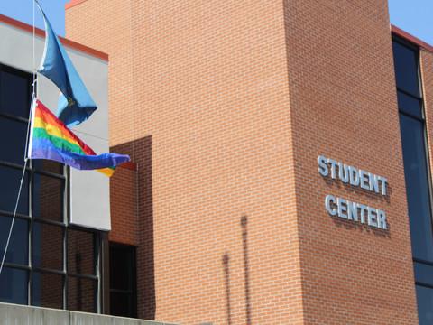 Minot State displays pride flag