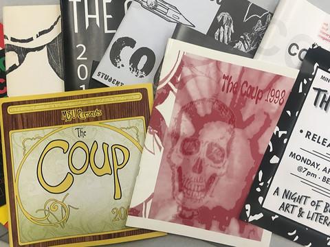 The Coup hosts virtual publication celebration