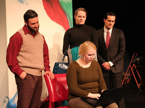 Production recognized by regional theater festival
