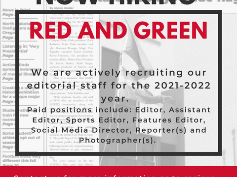 Red and Green - Now Hiring!