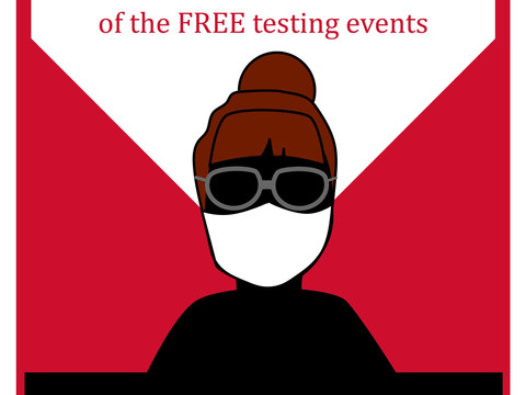 Students encourage campus community to get tested