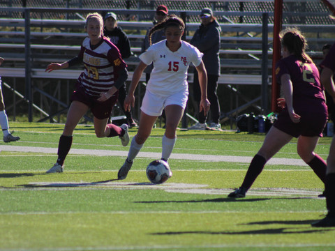 Lewis leads team in goals going into tournament