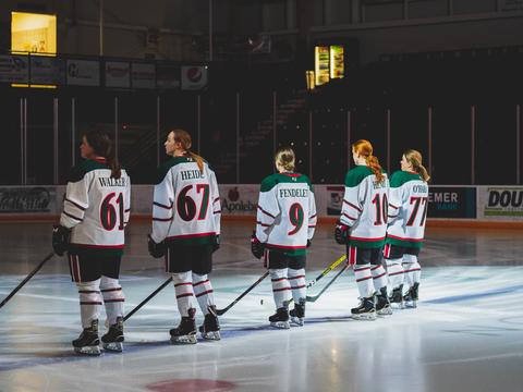 Female athletes shine at Minot State University