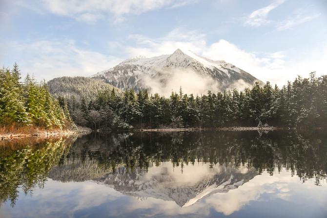 Heart Lake Landscape