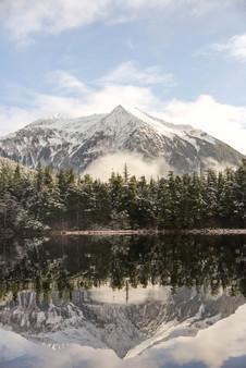 Heart Lake Reflection