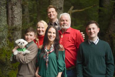 Travis, Mandie + family