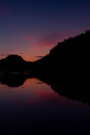 Camp Coogan Bay Sunset