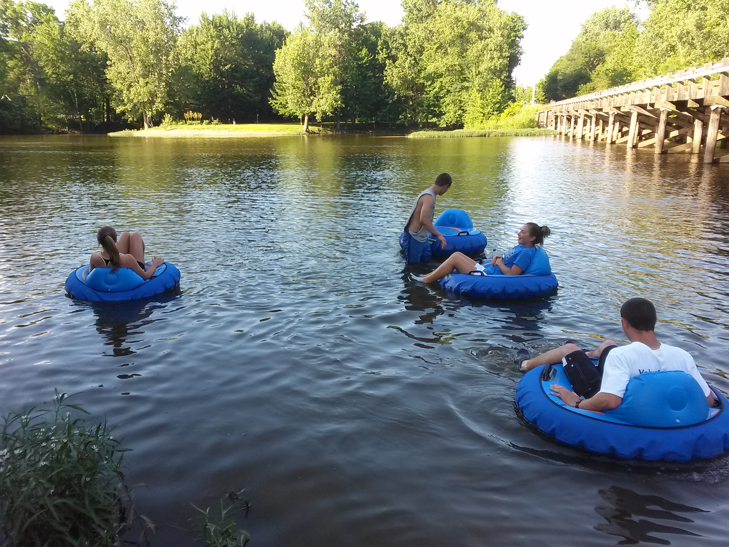 Tubing on the St. Joseph