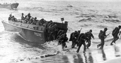 Sargent Irwin (Sonny) Fox reminisces on the 75th anniversary of D-Day