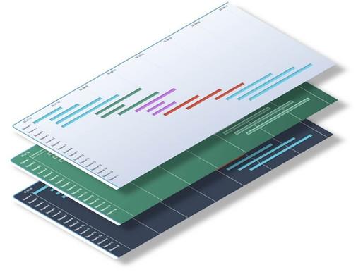 Блокнот менеджера. Инструменты планирования. Диаграмма Гантта.⠀