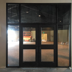 Doors to New Cove from Main Lobby
