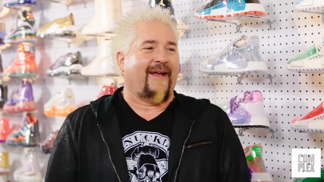 """Guy Fieri"" Sneaker Shopping"