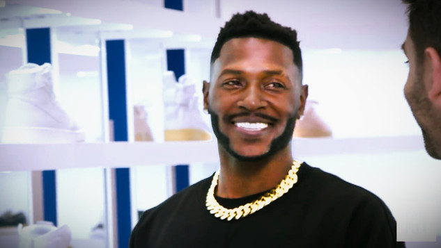 """Antonio Brown"" Sneaker Shopping"