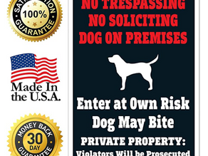 """Sorfeo acquires """"Legal Dog Sign"""" from WWG Visual Solutions."""