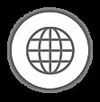 Mundo Rede_fundo branco_contorno Cinza.p