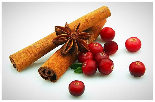 20 Cranberry Cinnamon