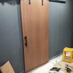 Door renovation 7