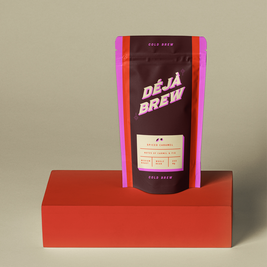 Deja Brew Packaging Design