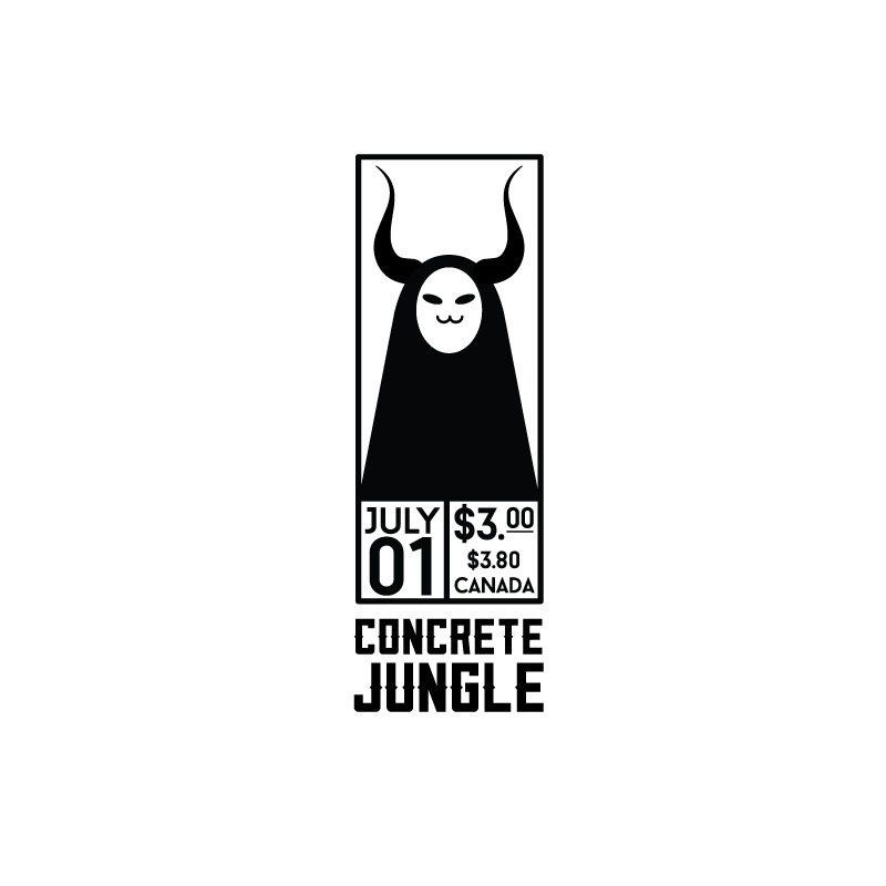 Concrete Jungle Zine Logo