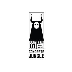 Concrete Jungle Zine Logo