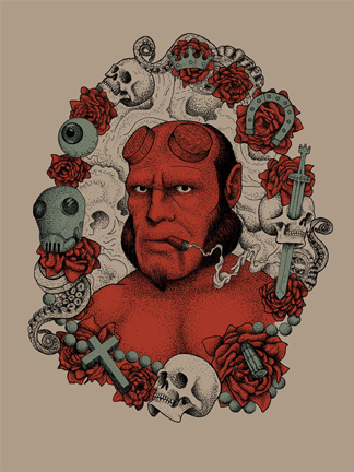 Hellboy Officially Licensed Artwork