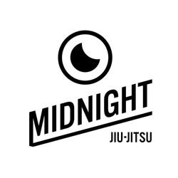 Midnight jiu-jitsu Logo