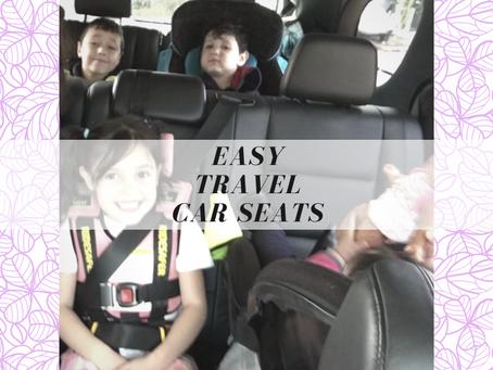 Easy Travel Car seats