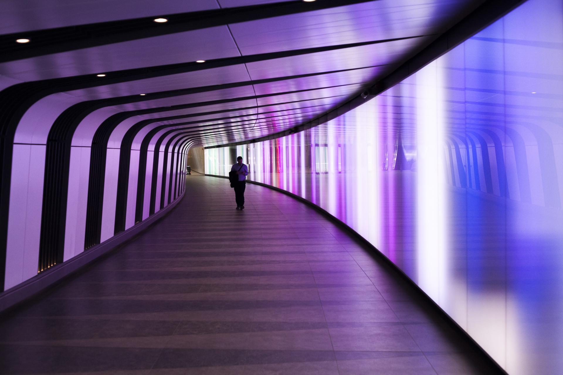 kings cross underground tunnel
