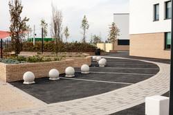 Aylesbury externals paving school