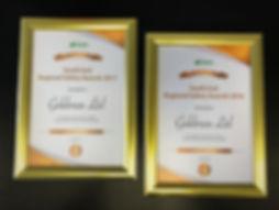 Goldmax Safety Awards BAM Construct UK Regional Safety Awards