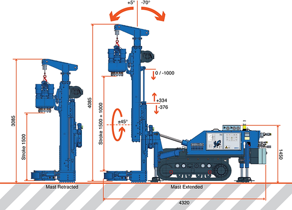 Goldmax Soilmec SM4 Specifications piling rig