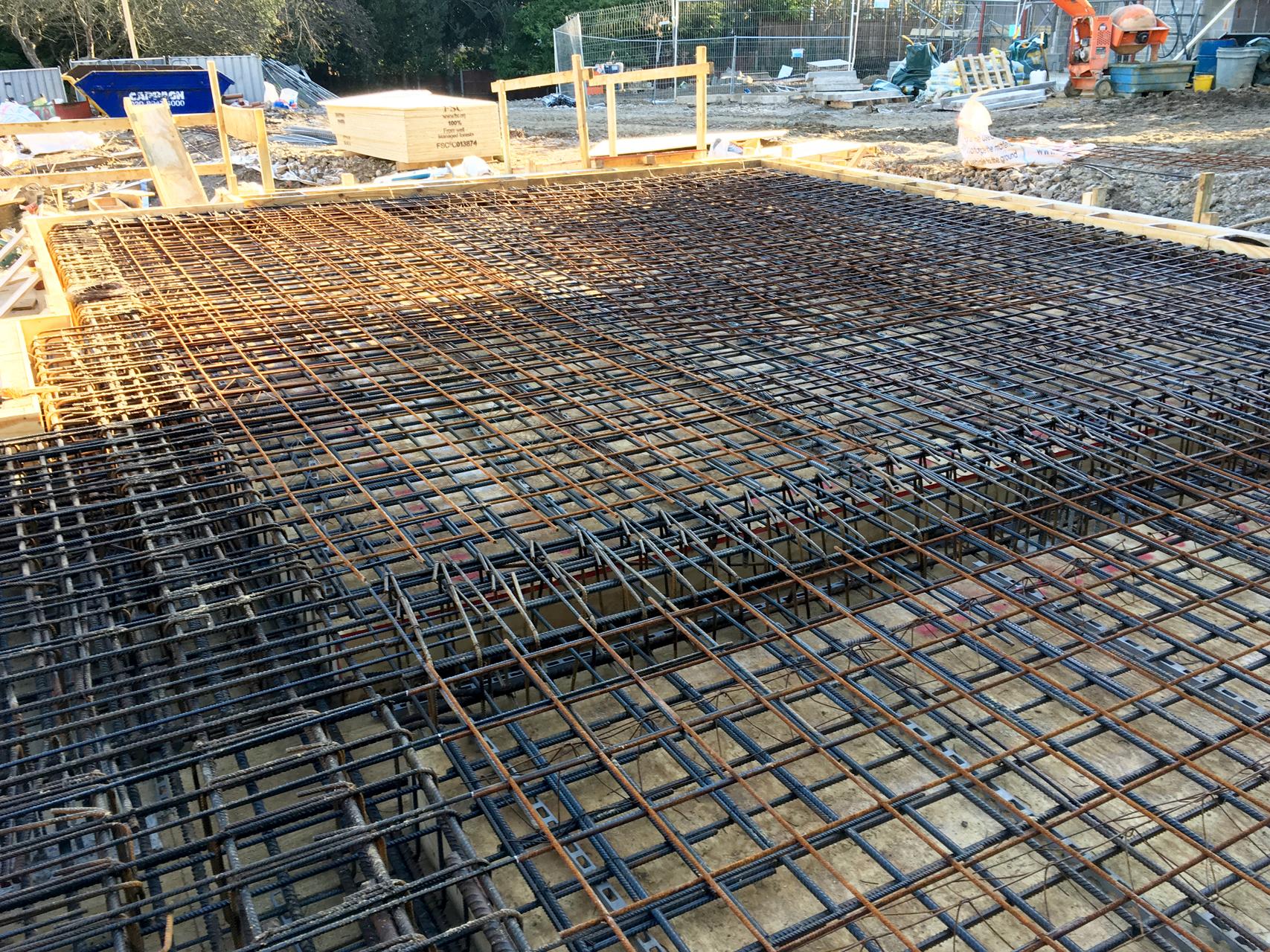 Basement Excavation Construction