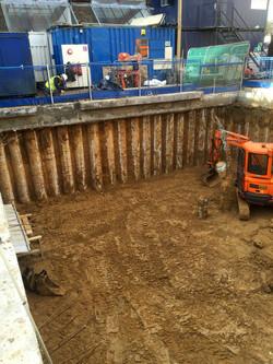 Basement Construction Excavation